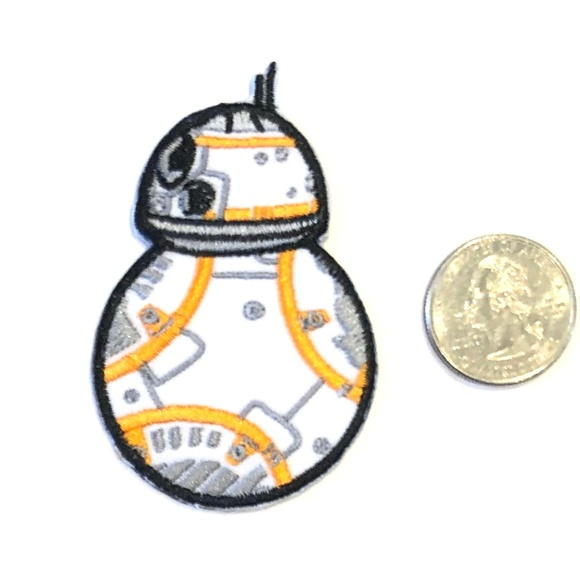 Star Wars Patch BB8 Iron On Droid Movie DIY Badge Boutique